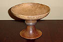 Unknown wood, Walnut, Mahogany -- a light stain was applied.